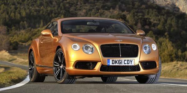 Genève 2012 : Bentley Continental GT V8