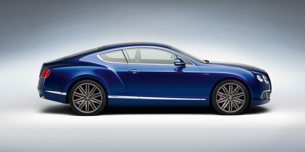 Officiel : Bentley Continental GT Speed