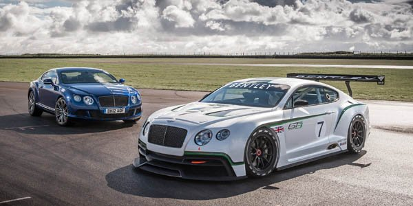 Officiel : Bentley Continental GT3