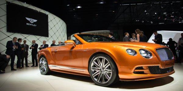Genève : Bentley continental GT speed