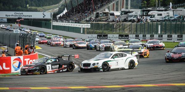 Saison réussie pour la Bentley Continental GT3