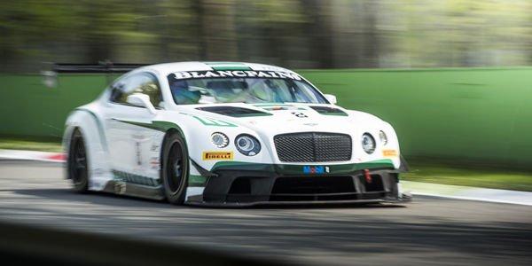 Livrée spéciale pour Bentley aux 24H du Nürburgring