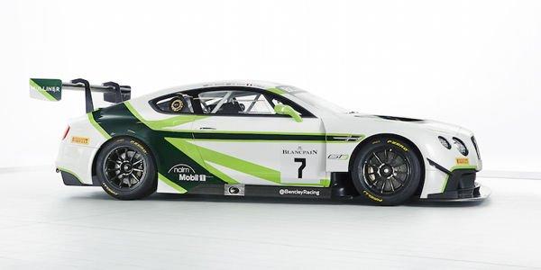 Superbe livrée pour la Continental GT3 à Bathurst