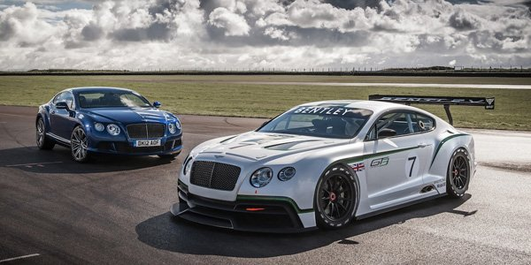 Bentley Continental GT3 : sur la route ?