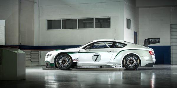 La Continental GT3 dévoilée à Goodwood