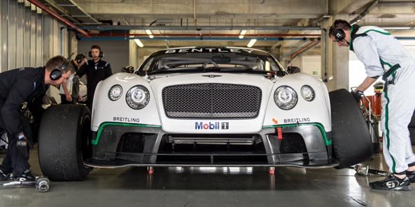 Débuts de la Bentley Continental GT3