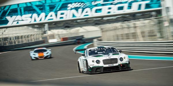 La Bentley Continental GT3 bien lancée