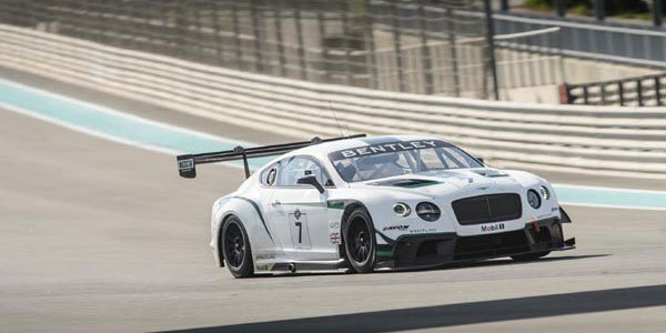 La Bentley GT3 au pied du podium