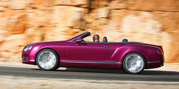 La Bentley Continental GTC Speed arrive