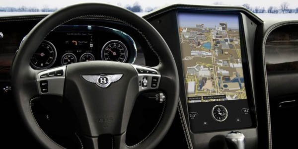 Une Bentley Continental GTC high-tech