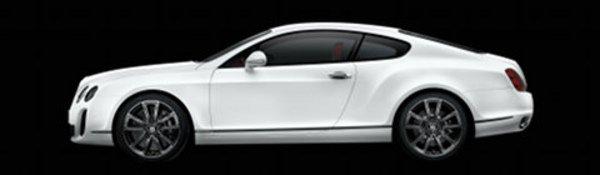 630 chevaux pour la Bentley Supersports