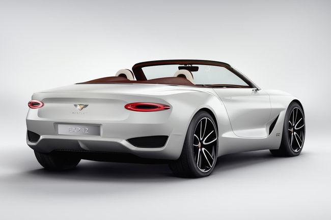 Bentley : un coupé électrique en approche ?