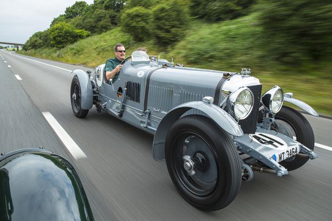 Des Bentley de légende à Hampton Court