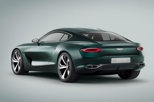 Le concept Bentley EXP 10 Speed 6 en production ?