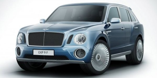 Bentley confirme le design du EXP-9F