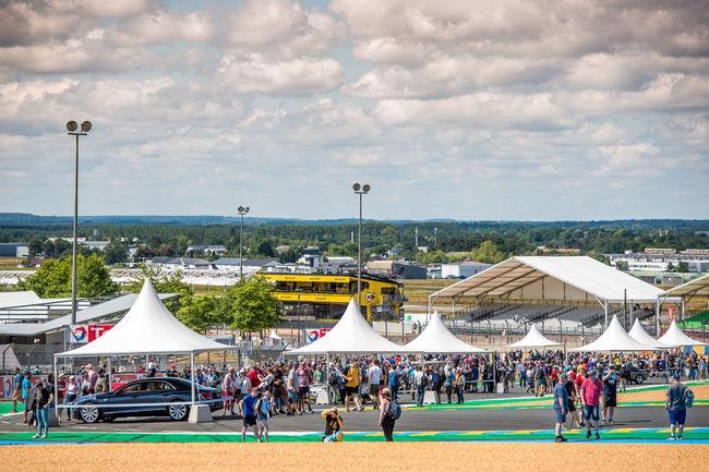 Le centenaire de Bentley célébré au Mans