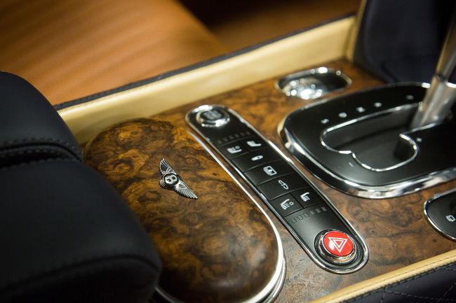 Bentley : nouvelle finition intérieure en noyer signée Mulliner