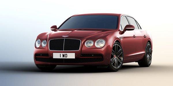 Une spécification Beluga pour la Bentley Flying Spur V8