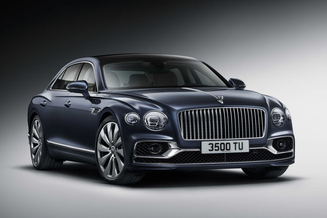 Un écran tactile amovible pour la Bentley Flying Spur