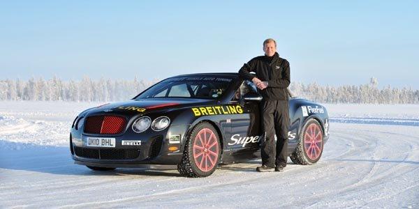 Participez au stage Bentley Power on Ice