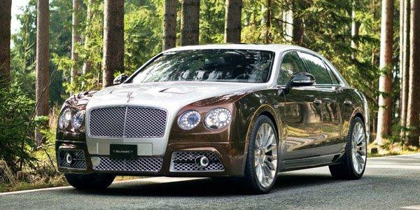Genève : Bentley Flying Spur par Mansory