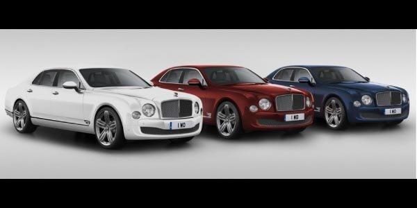 Bentley Mulsanne 95 édition limitée