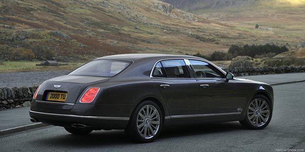 Une Bentley Mulsanne de 550 ch en approche