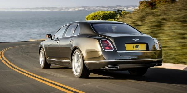 Nouvelle Bentley Mulsanne Speed