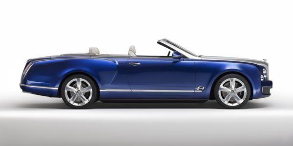Bentley Mulsanne : bientôt une version découvrable