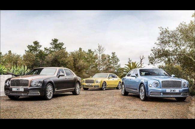 Bentley présente sa nouvelle gamme Mulsanne