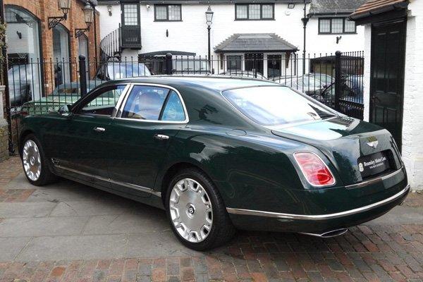 La Bentley Mulsanne d'Elizabeth II est à vendre