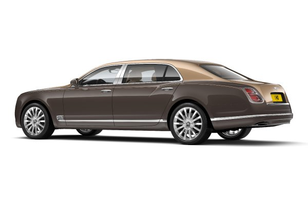 Une First Edition exclusive pour la Bentley Mulsanne
