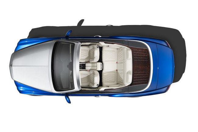 Bentley Mulsanne Grand Convertible : édition limitée