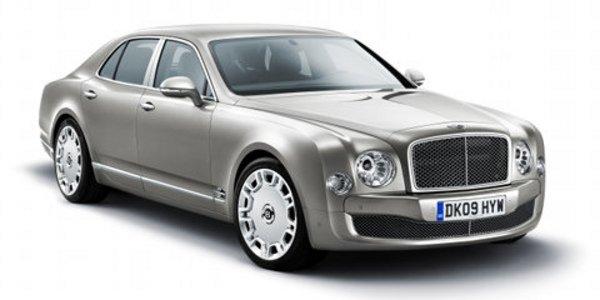 La Bentley Mulsanne fait les gros yeux