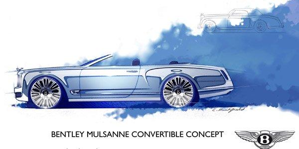 La Bentley Mulsanne va enlever le haut