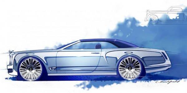 Bentley : un cabriolet Mulsanne ?
