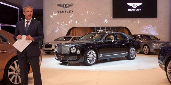 Dubaï 2013 : Bentley Mulsanne Shaheen