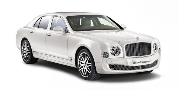Bentley Mulsanne Birkin édition limitée