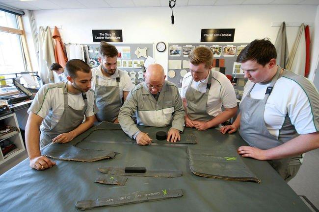 Projet spécial pour les apprentis de Bentley Motors