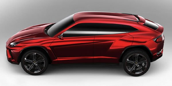 Soutien du gouvernement italien pour le SUV Lamborghini