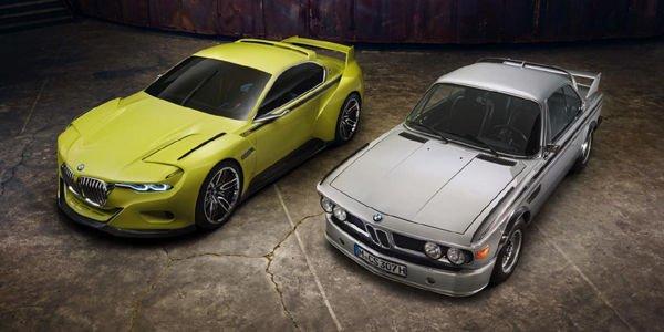La BMW 3.0 CSL Hommage à la Villa d'Este