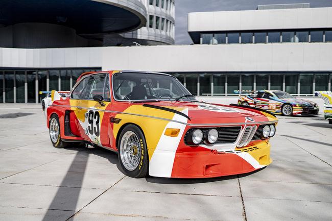Une BMW Art Car au Art Basel Hong Kong