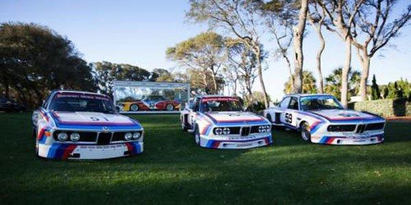 La BMW 3.0 CSL titrée a Amelia Island