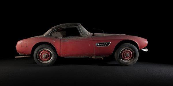 La BMW 507 du King exposée et restaurée