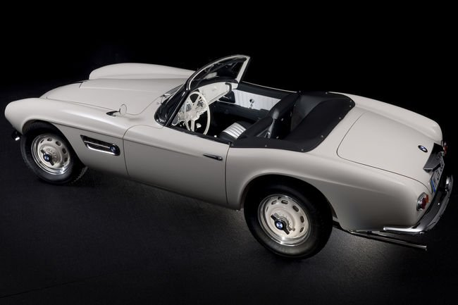 La BMW 507 d'Elvis Presley restaurée