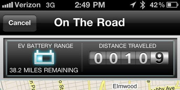 Application  EVolve par BMW