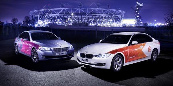 BMW partenaire des Jeux Olympiques 2012