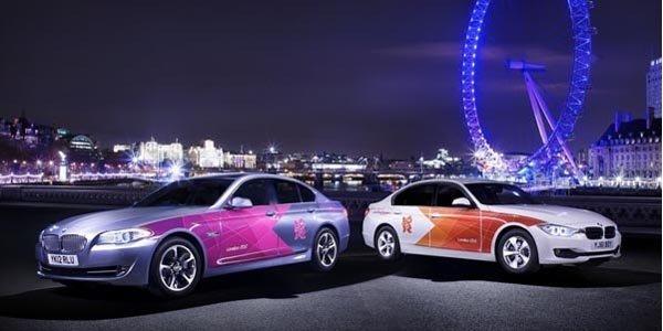 BMW dévoile les autos des Jeux Olympiques