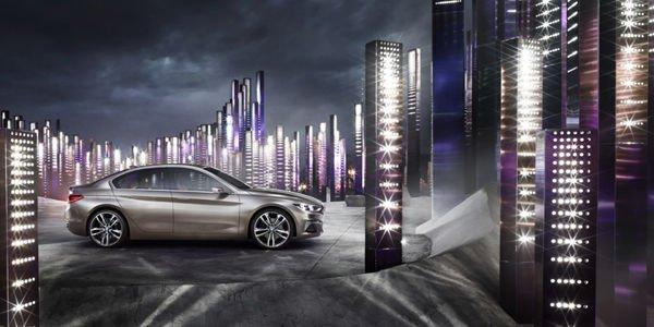 Le concept BMW Compact Sedan dévoilé à Guangzhou