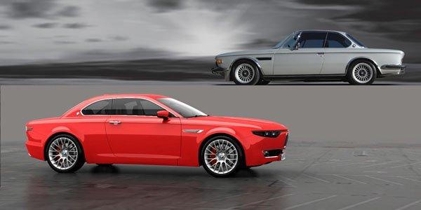 BMW CS Vintage Concept : inspiré par la 2000 CS